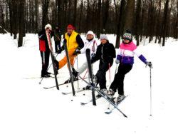 Обучение горным лыжам